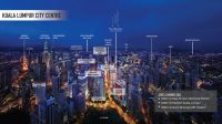 The Manhattan at KL City Centre, 550m to Pavilion KL. Brand New 2+1 Bendroom, Fully Furnished