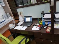 Fully Furnished Shared Office Space for Rent (1 Manager Room + 4 Workstation)