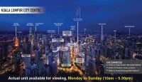FOR RENT: BRAND NEW 1-bedroom Fully Furnished, 550m to Pavilion Kuala Lumpur