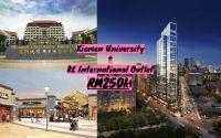 KLIA New Investment Project !! Installment Rm1300 Rental RM3000!! Opposite XIAMEN Uni & KL Outlet !