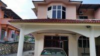 Semi D double storey house in Taman Bukit Ria, Tampin, N. Sembilan for Sale