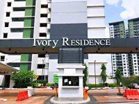 Ivory Residence @ Mutiara Heights Kajang. Freehold. 2 Car Parks. Near MRT, Giant  (FOR SALE)