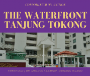 Auction: The Waterfront Condominium Tanjung Tokong
